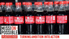 Coca Cola's broad vision is for a world without waste